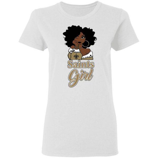 Black Girl Oklahoma Saints T-Shirt