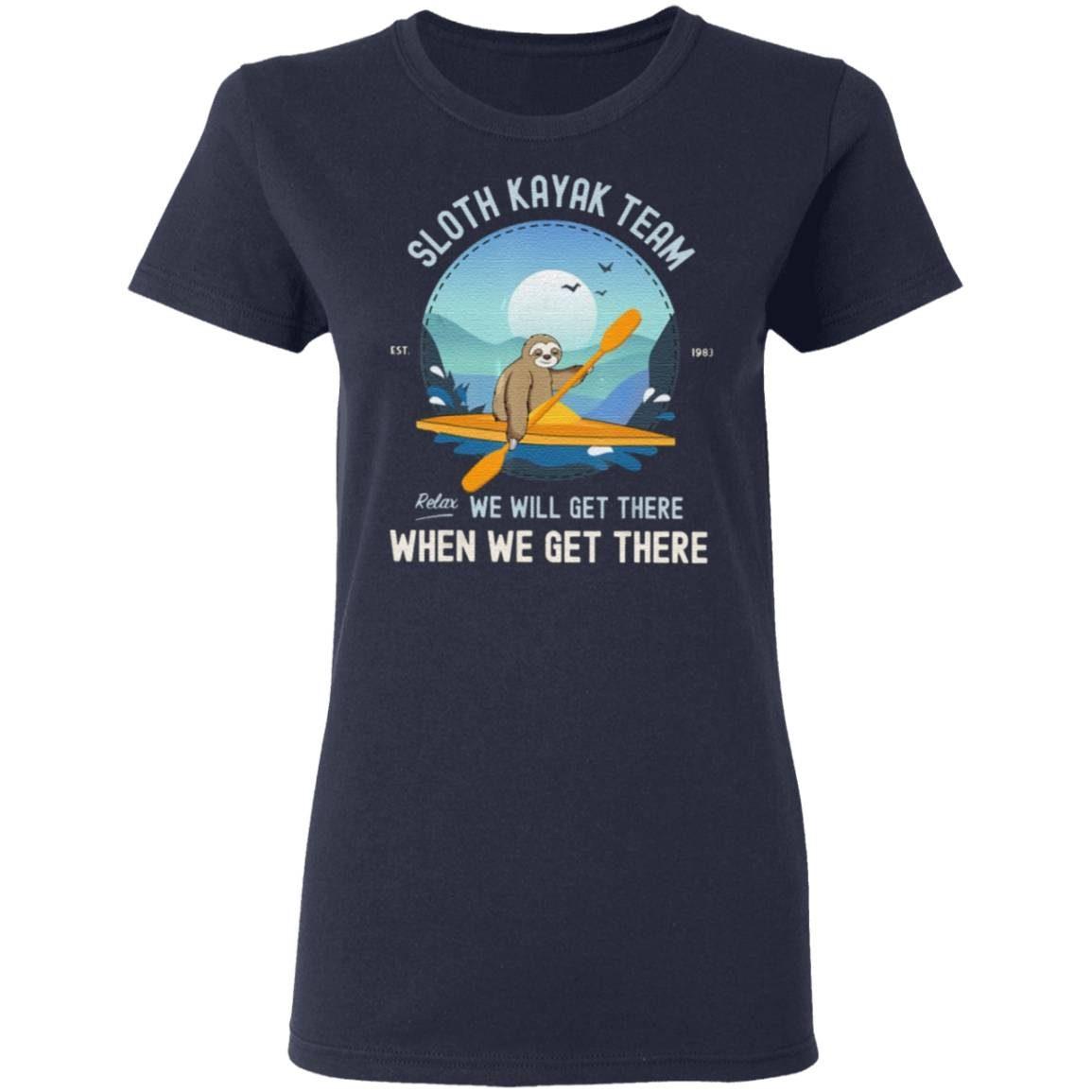 Sloth Kayaking Sloth Kayak Team Classic T-Shirt