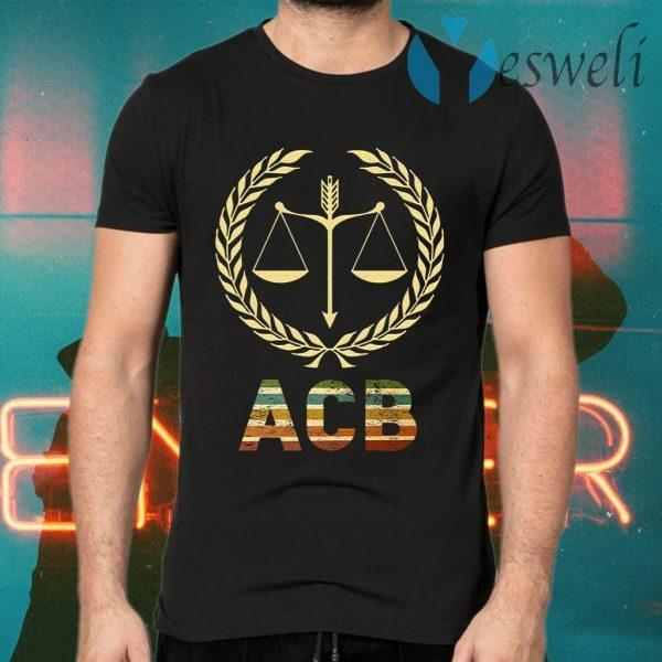 ACB Shirt Amy Coney Barrett T-Shirts
