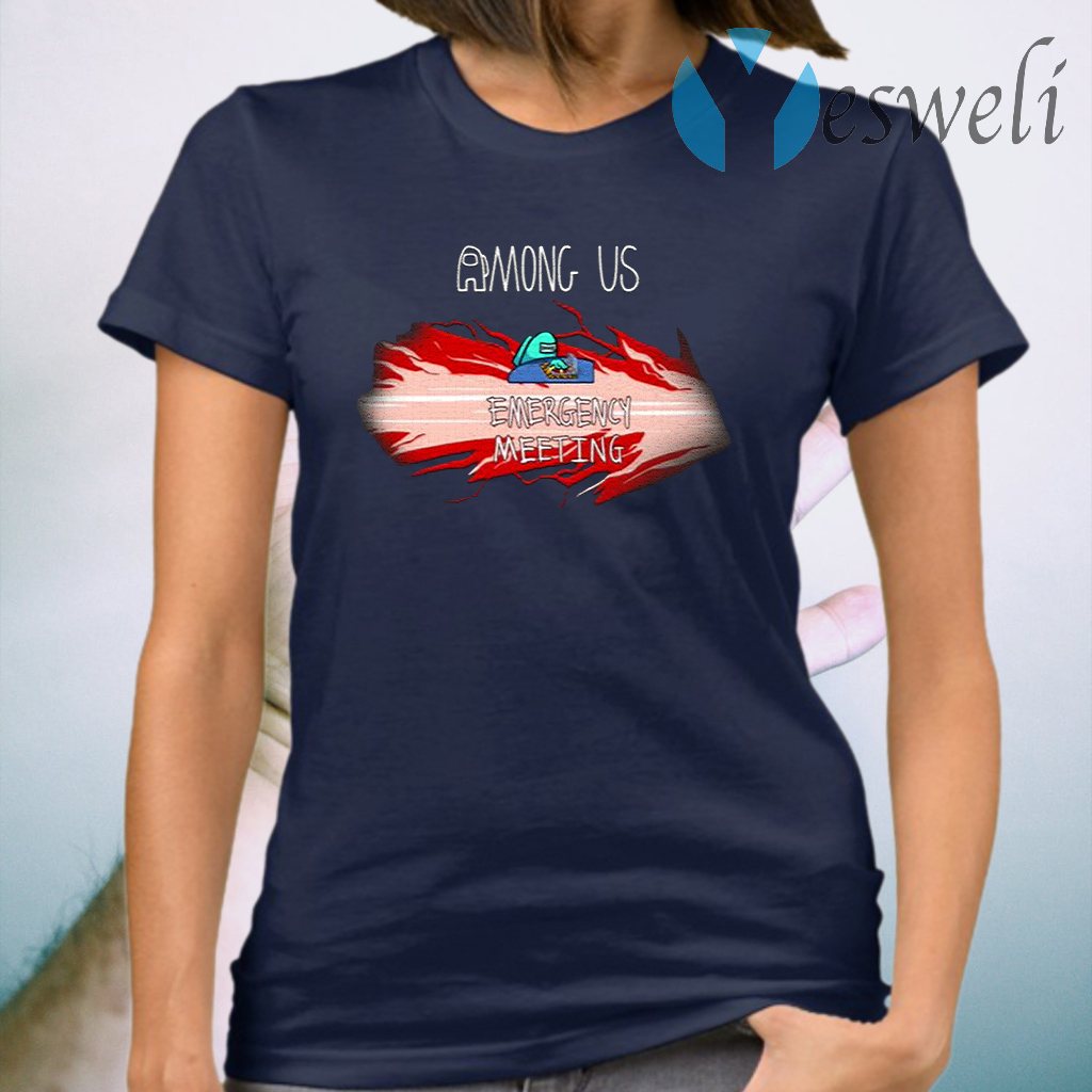 Among Us Merch Emergency Meeting T-Shirt