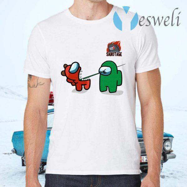 AmongUs Merch Impostor Kill Character T-Shirts