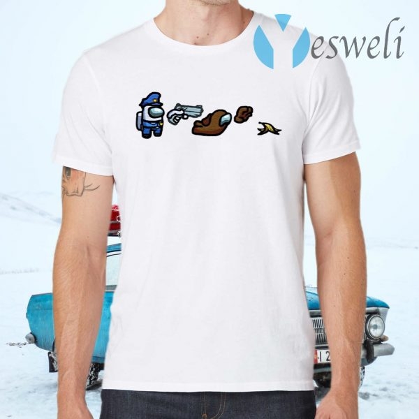 AmongUs Merch Impostor Sheet Character T-Shirts