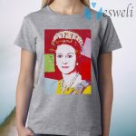 Andy Warhol Queen Elizabeth England Pop Art 60s T-Shirt