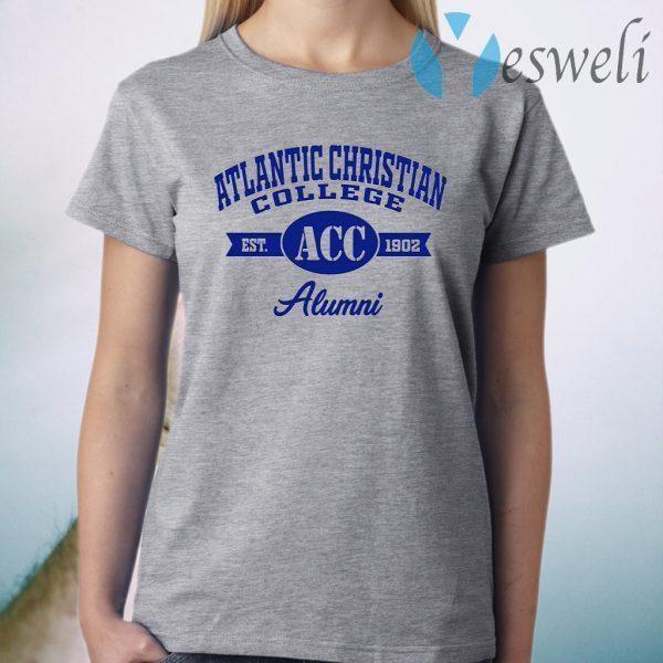 Atlantic Christian College Est ACC 1902 Alumni T-Shirt