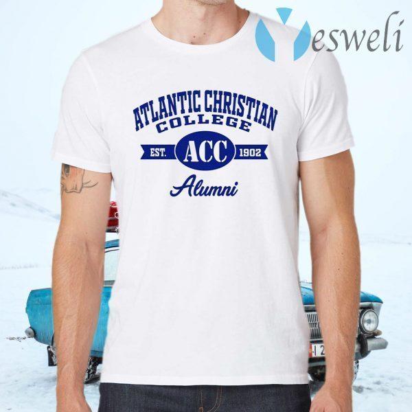 Atlantic Christian College Est ACC 1902 Alumni T-Shirts