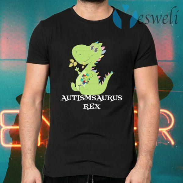 Autismsaurus Rex T-Shirts