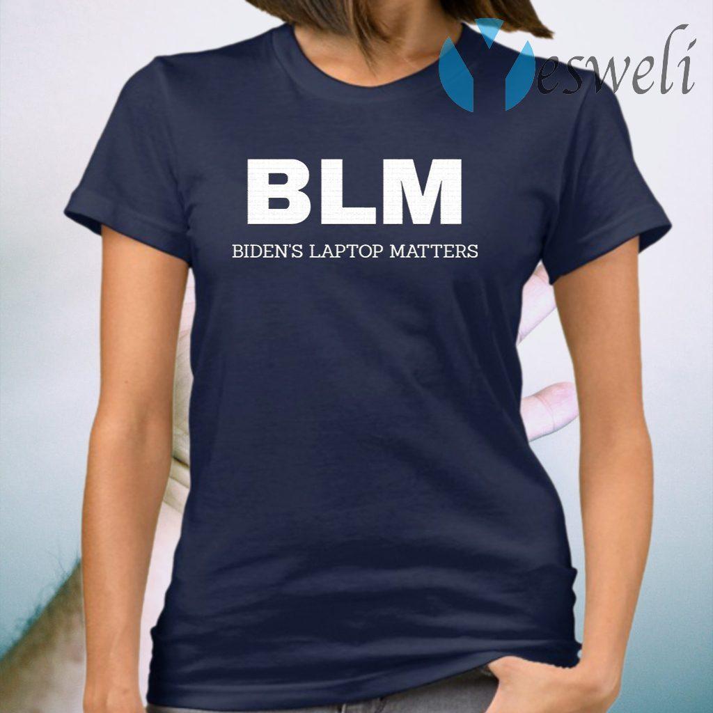 BLM Bidend's Laptop Matters T-Shirt