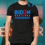 Biden For Resident Funny Trump Mocking Joe Biden T-Shirts