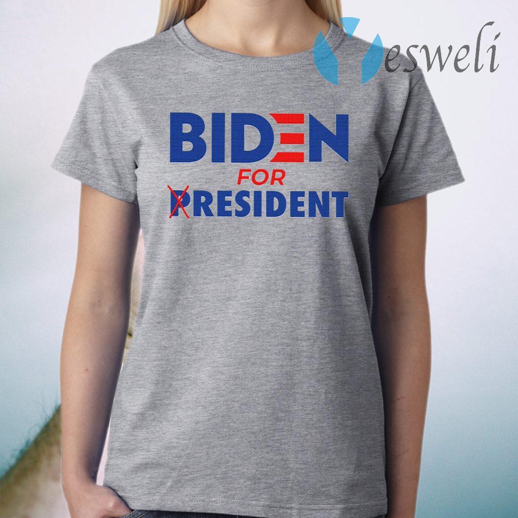 Biden For Resident T-Shirt