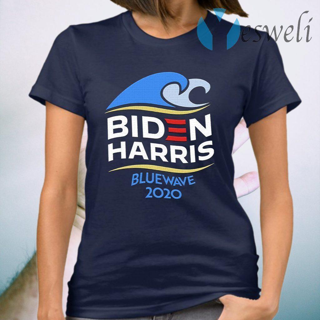 Biden Harris Blue Wave 2020 Election T-Shirt