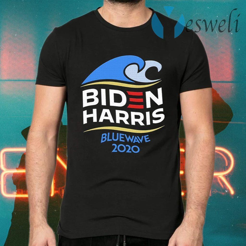 Biden Harris Blue Wave 2020 Election T-Shirts