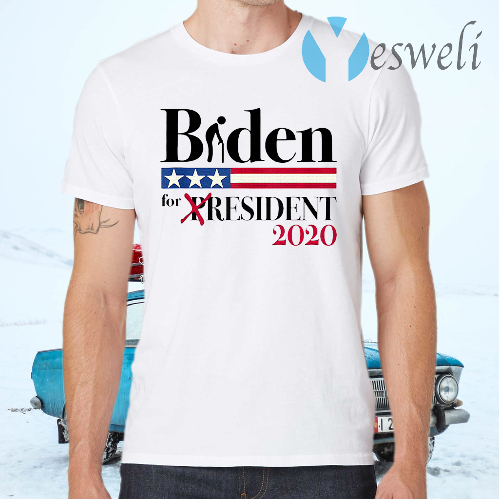 Biden for Resident Funny Political T-Shirts
