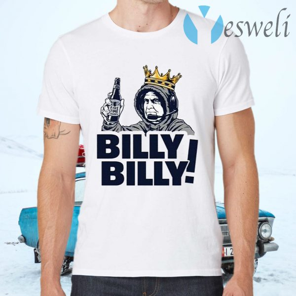 Billy Billy New England Patriots T-Shirts