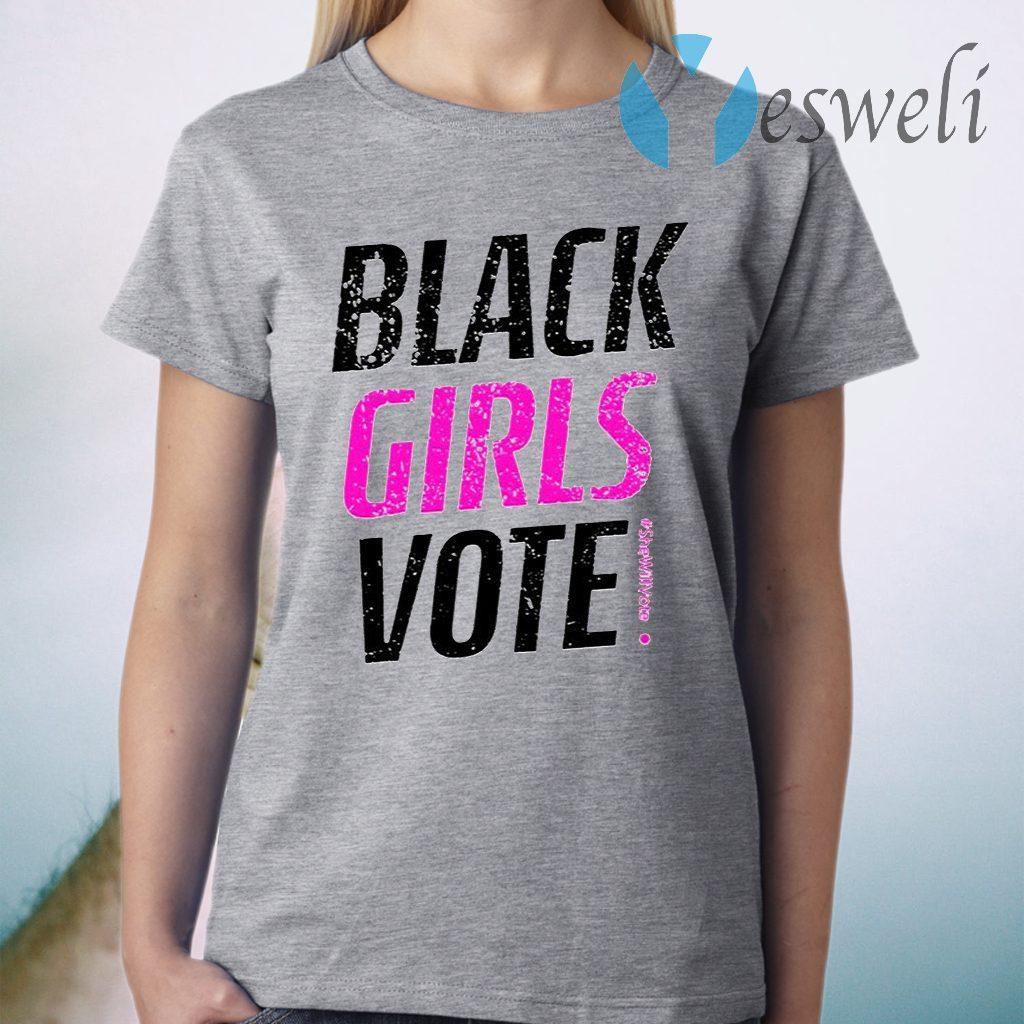 Black Girls Vote #SheWillVote T-Shirt