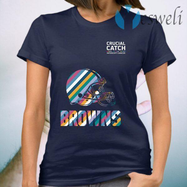 Browns crucial catch T-Shirt