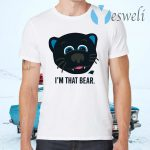 Carolina Panthers I'm That Bear T-Shirts