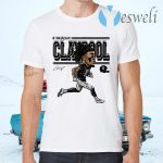Chase Claypool Cartoon T-Shirts