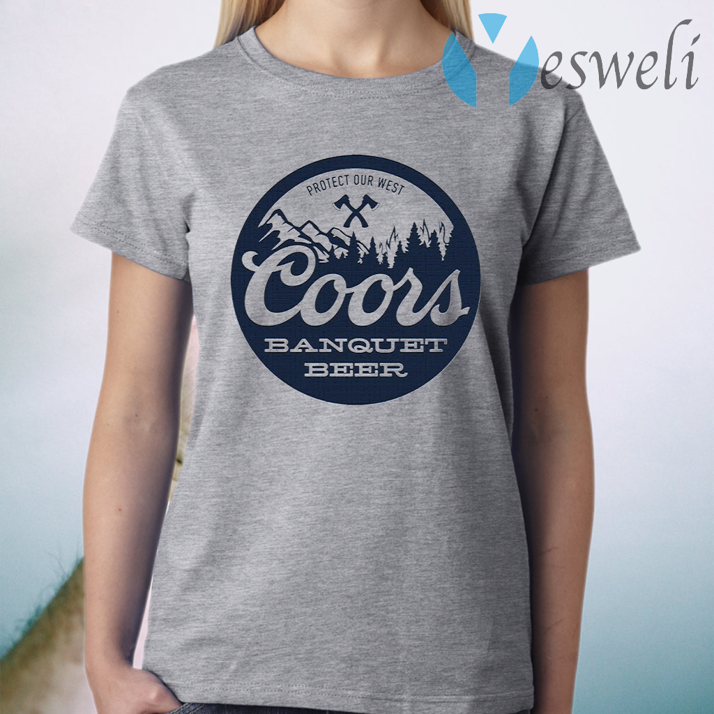 Coors Banquet Beer Protect Our West T-Shirt