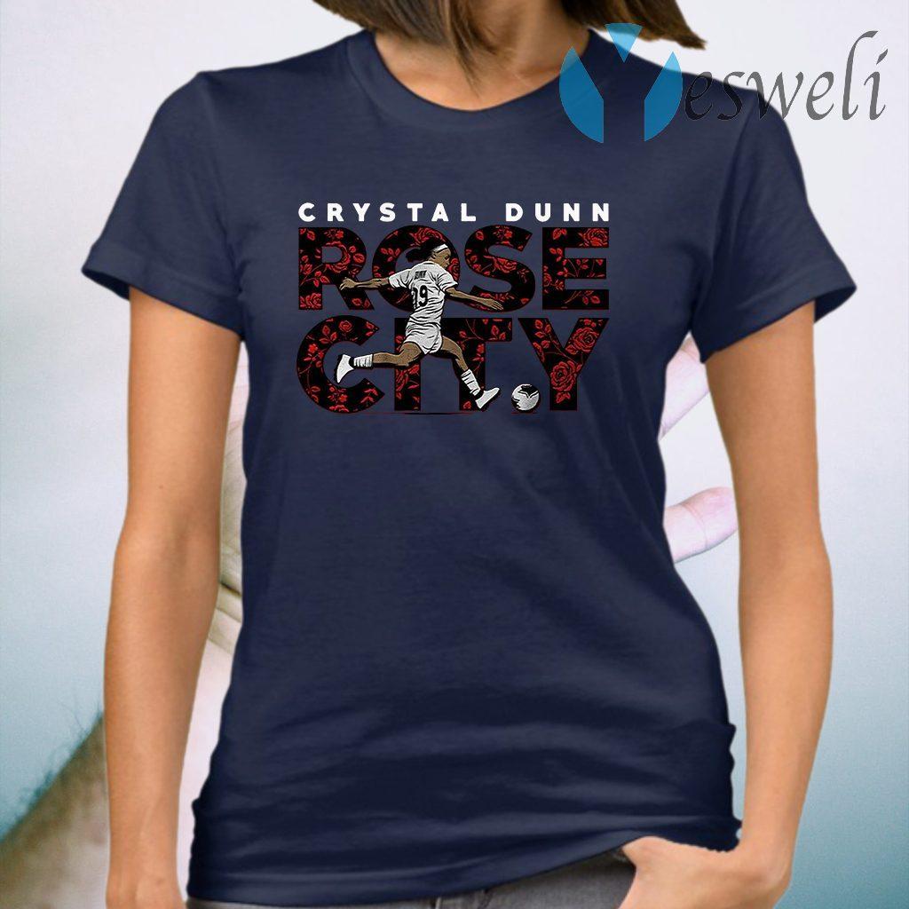 Crystal dunn rose city T-Shirt