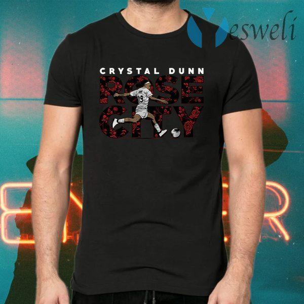 Crystal dunn rose city T-Shirts