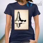 Dachshund and yoga T-Shirt
