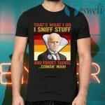 Dementia Joe Biden Sniffing Hair T-Shirts