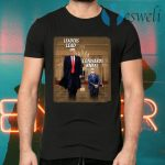 Donald Trump Leaders Lead Cowards Kneel T-Shirts
