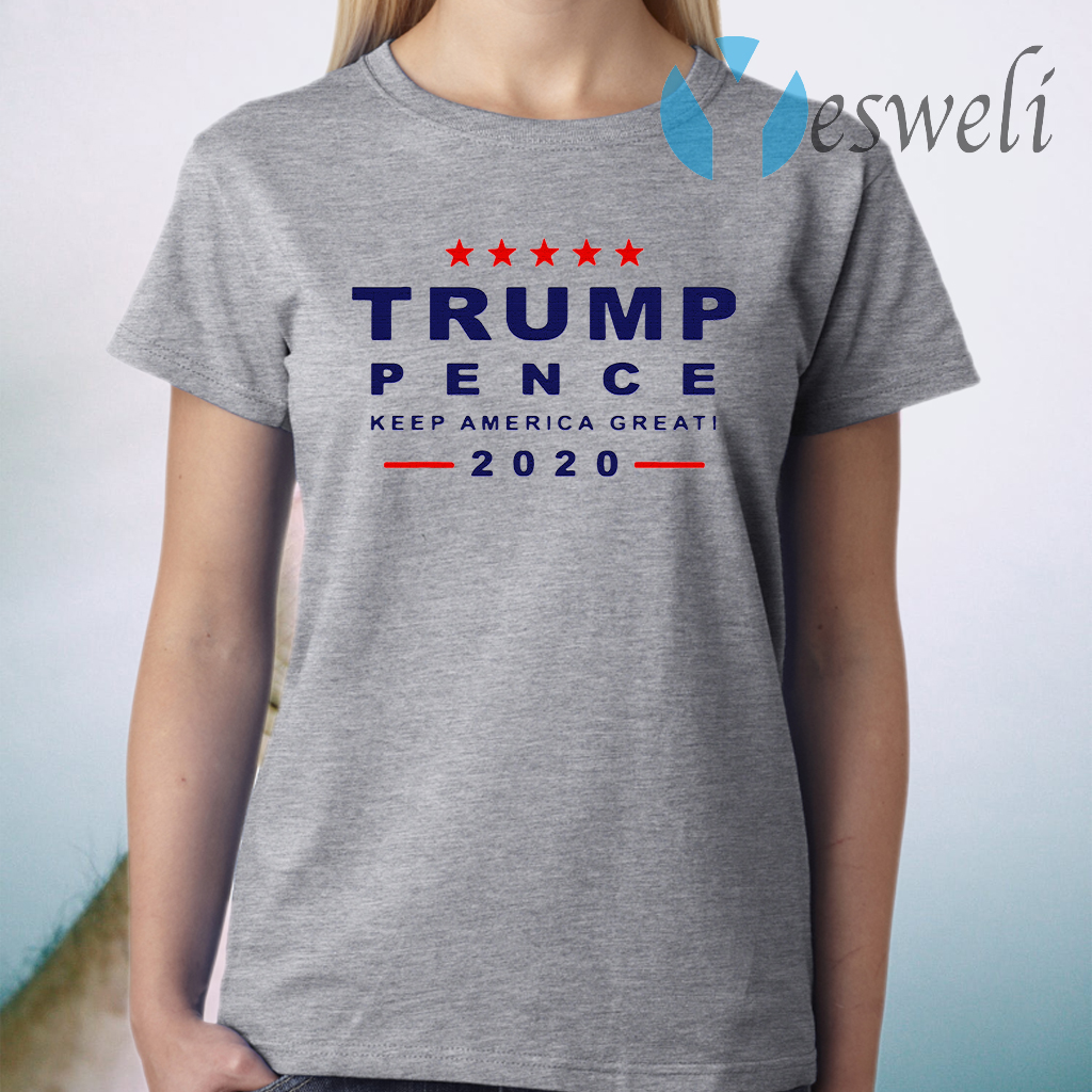 Donald Trump President 2020 Pence Kag Presidential Elections T-Shirt