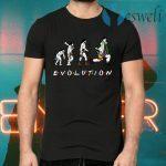 Dr Ramoray Theory Evolution T-Shirts