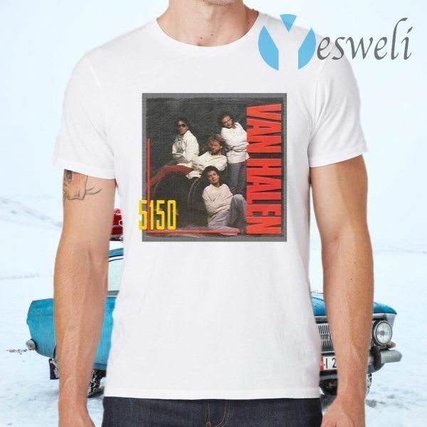 Eddie Van Halen 5150 T-Shirts