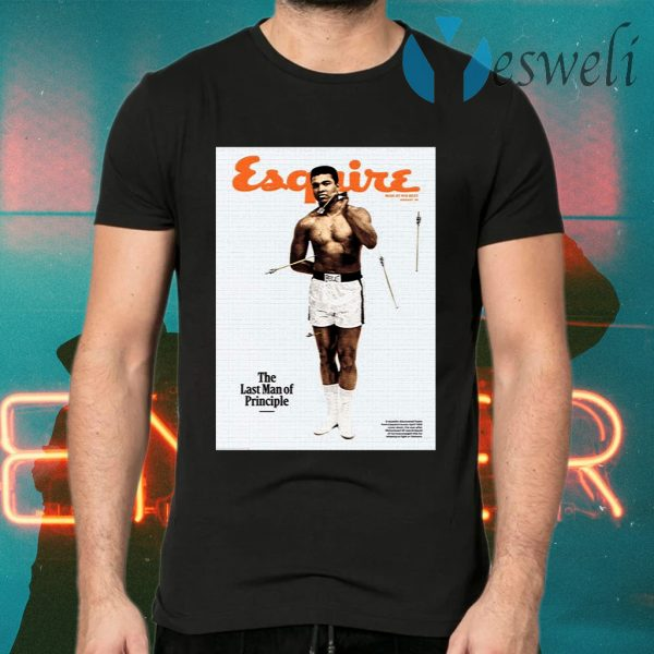 Esquire The Last Man Of Principle T-Shirts