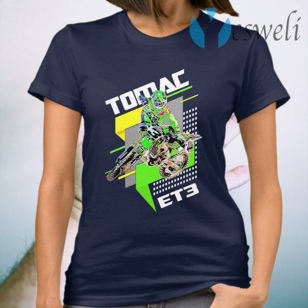 Et3 eli tomac 3 motocross and supercross T-Shirt
