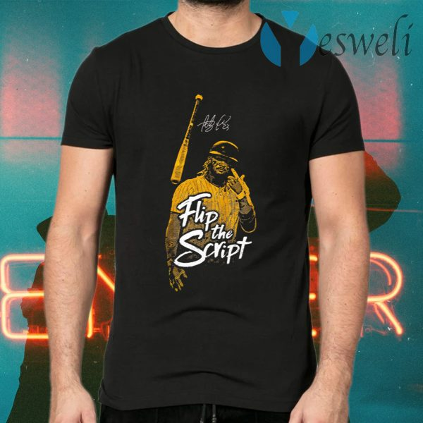 Fernando Tatis Jr Flip The Script T-Shirts