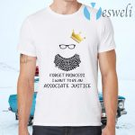 Forget Princess I Want To Be An Associate Justice RBG Notorious RBG Youth T-Shirts