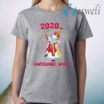 Funny Hamilton George King 2020 Awesome Wow Quarantine Christmas T-Shirt