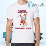 Funny Hamilton George King 2020 Awesome Wow Quarantine Christmas T-Shirts