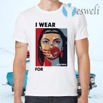 Funny MMIWG Indigenous Women I wear red for my Sisters T-Shirts