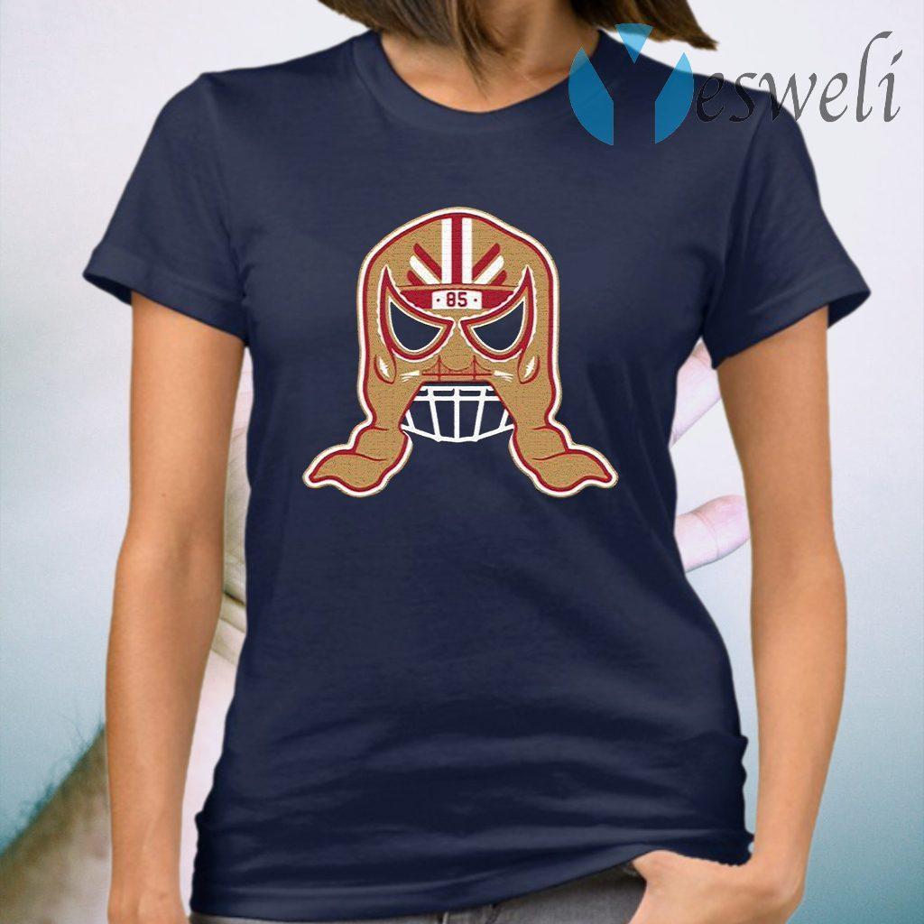 George Kittle Lucha Mask T-Shirt