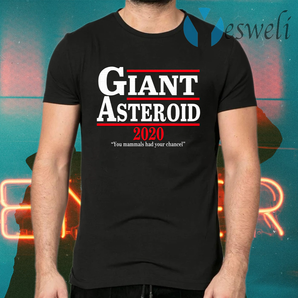 Giant Asteroid 2020 T-Shirts