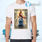 God Is Within Her She Will Not Fall Psalm 46 5 T-Shirts