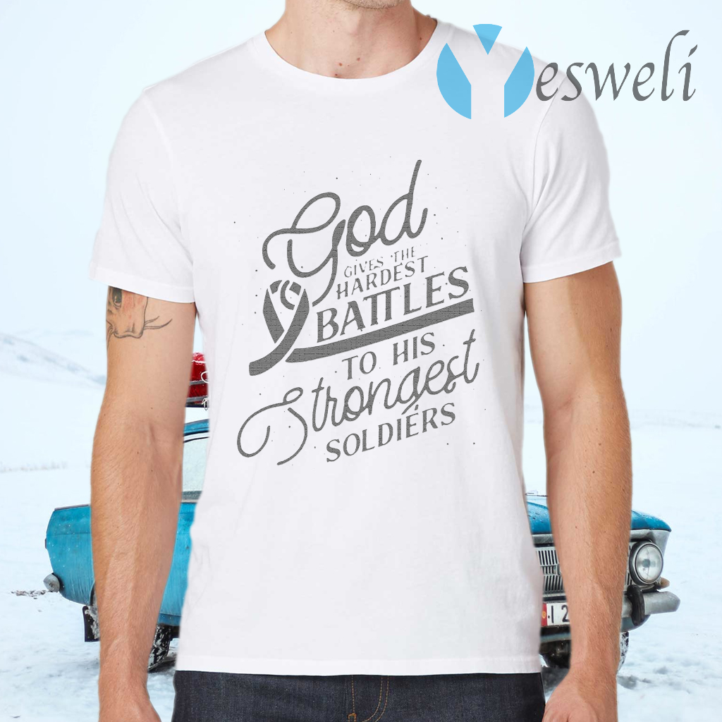 Gods Strongest Soldiers T-Shirts