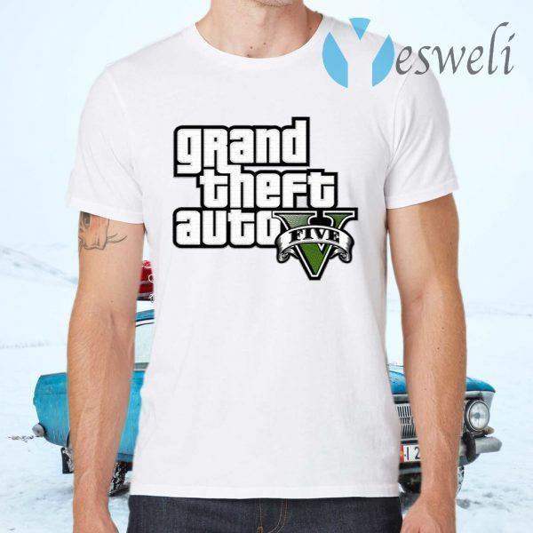 Grand Theft Auto V Logo T-Shirts