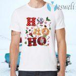 HO HO HO Piglet Disney Vacation Snowmen Christmas T-Shirts