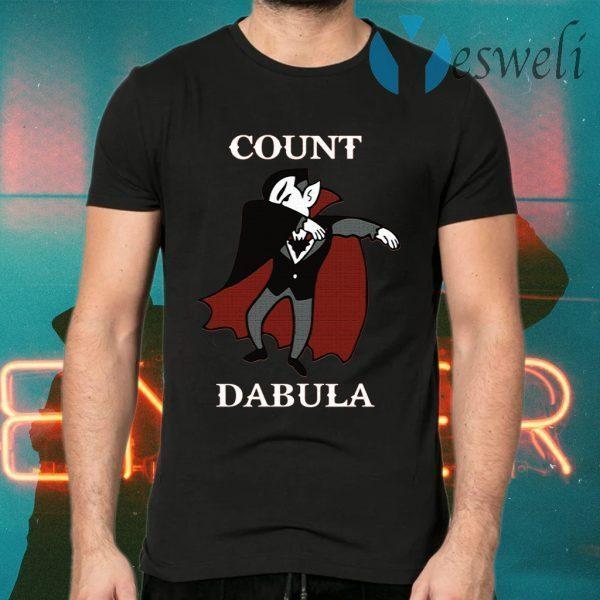 Halloween Count Dabula Dab T-Shirts