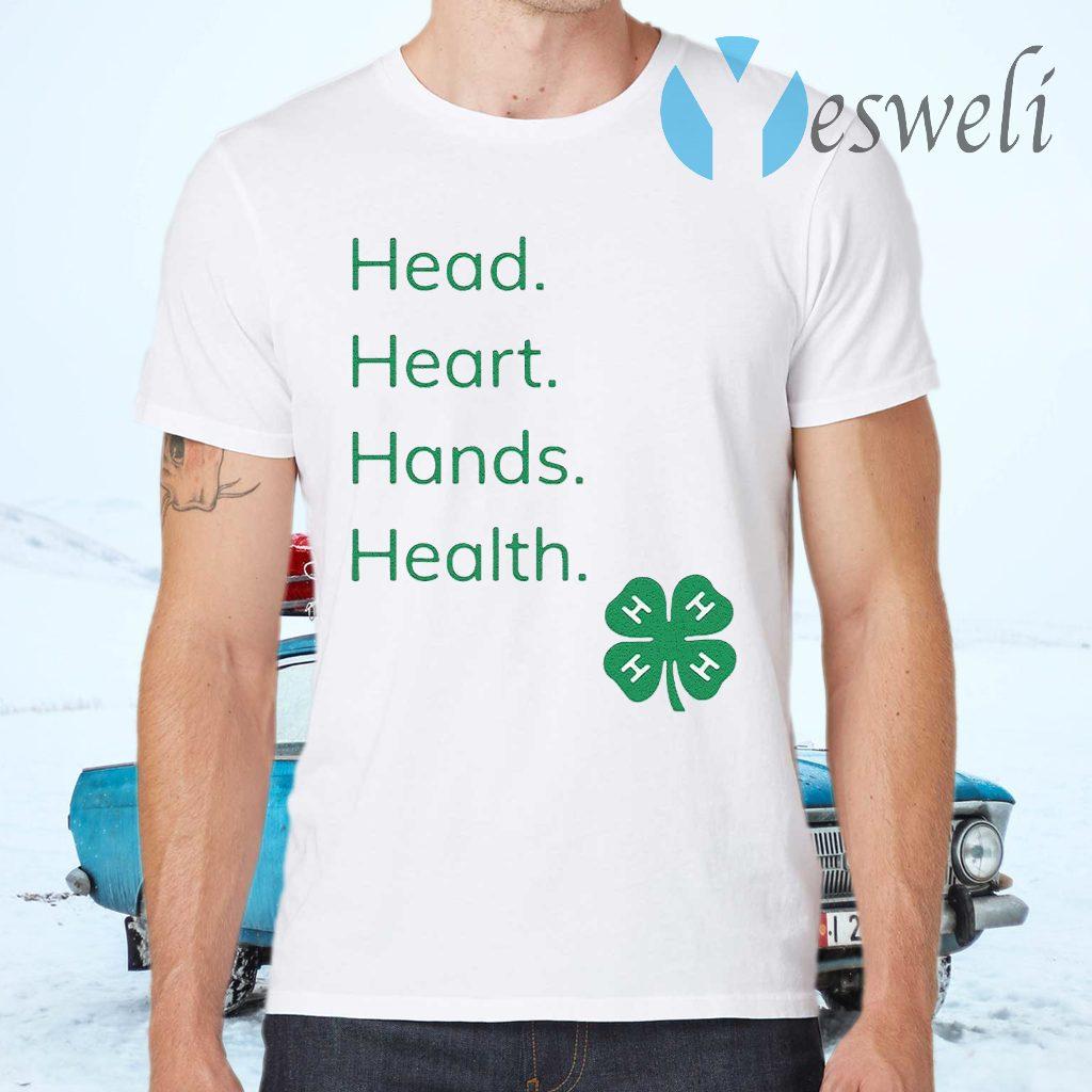 Head Heart Hands Health 4H T-Shirts