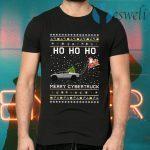 Ho Ho Ho Merry Cybertruck Christmas T-Shirts