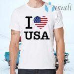 I Love USA T-Shirts