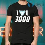 I Love You 3000 Iron Man Stark Avengers T-Shirts