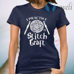 I Practice Stitch Craft Crochet T-Shirt