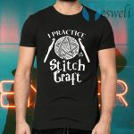 I Practice Stitch Craft Crochet T-Shirts